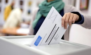 ხმის მიცემა. არჩევნები. ფოტო: EPA/ISTVAN BIRO