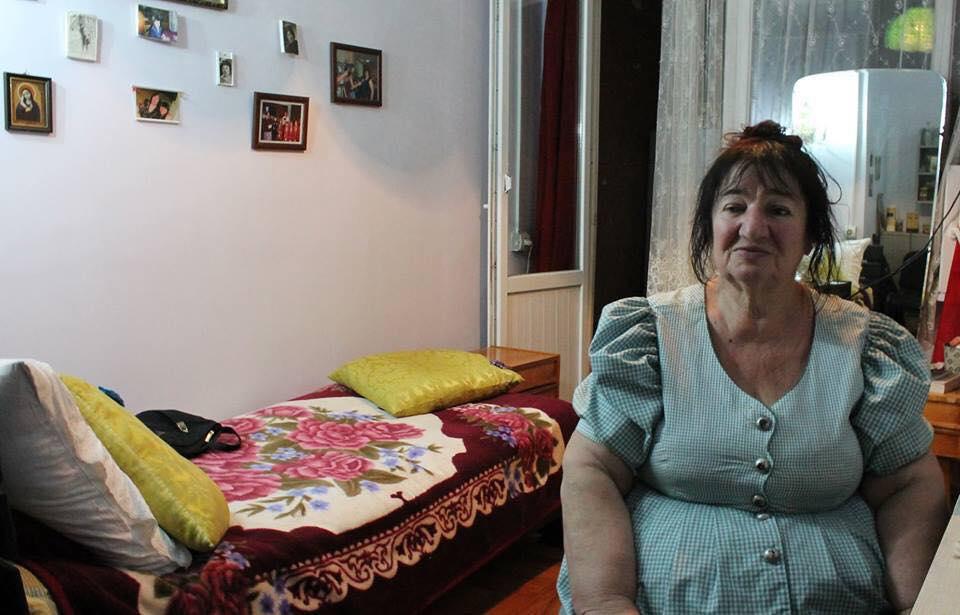 """დოკუმენტური ფილმის """"ოთახები"""" ერთ-ერთი გმირი ვიოლა. ფოტო: რუსუდან ფანოზიშვილი"""