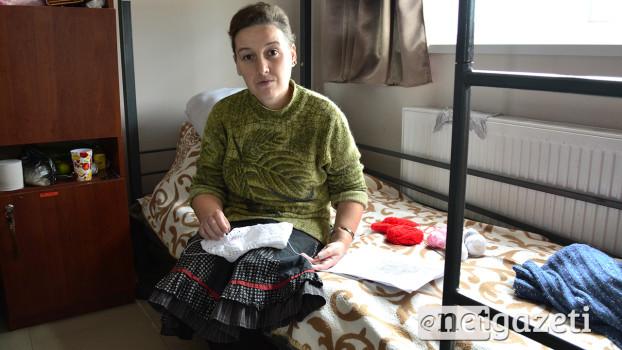 8 თვე კარავში ცხოვრობდა ტერეზა ხაჩიანიც. 7 თვის წინ კი მერიის თავშესაფარში გადავიდა საცხოვრებლად. 03.11.16 ნეტგაზეთი/მარიამ ბოგვერაძე
