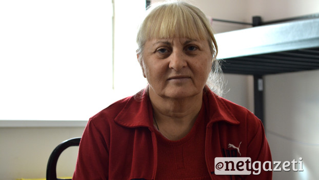 ჯულიეტა მურიძე სამი თვეა მერიის თავშესაფარში ცხოვრობს. 03.11.16 ფოტო: ნეტგაზეთი/მარიამ ბოგვერაძე