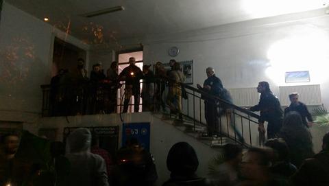 თსუ–ს მეექვსე კორპუსი აუდიტორია 115–მა დაიკავა, ფოტო: ლუკა პერტაია. 24.11.2016