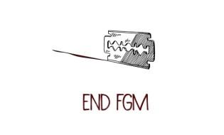 გოგონათა გენიტალიების დასახიჩრების პრაქტიკის საწინააღმდეგო პლაკატი. წყარო: www.dnaindia.com