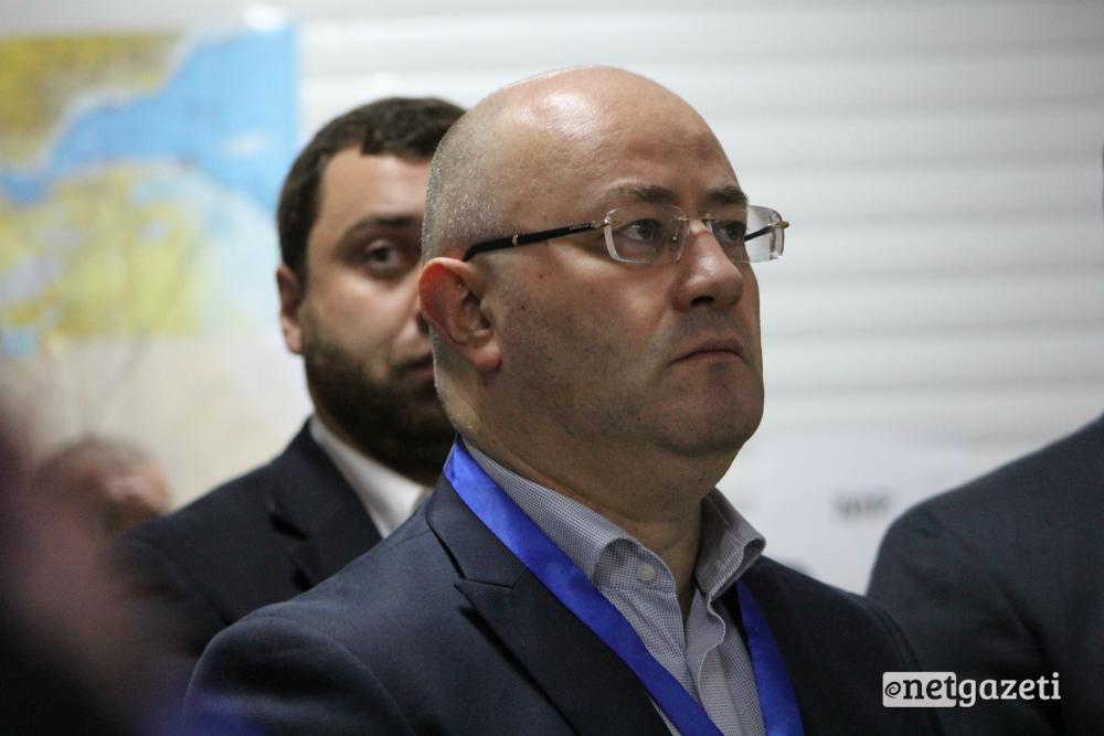 საქართველოს თავდაცვის მინისტრი ლევან იზორია 17.11.16 ფოტო: ნეტგაზეთი/გუკი გიუნაშვილი