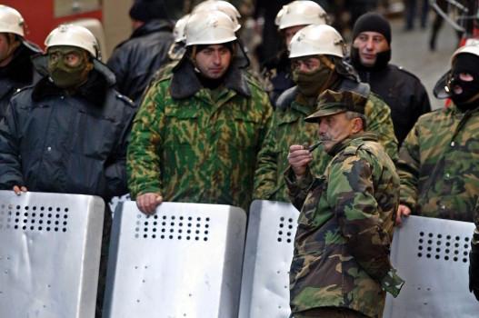 21 ნოემბერი საქართველოს შინაგანი ჯარები © EPA/SERGEI ILNITSKY