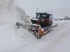 მლეთა-გუდაური. შეზღუდვები გზებზე, თოვა. ფოტო: საავტომობილო გზების დეპარტამენტი