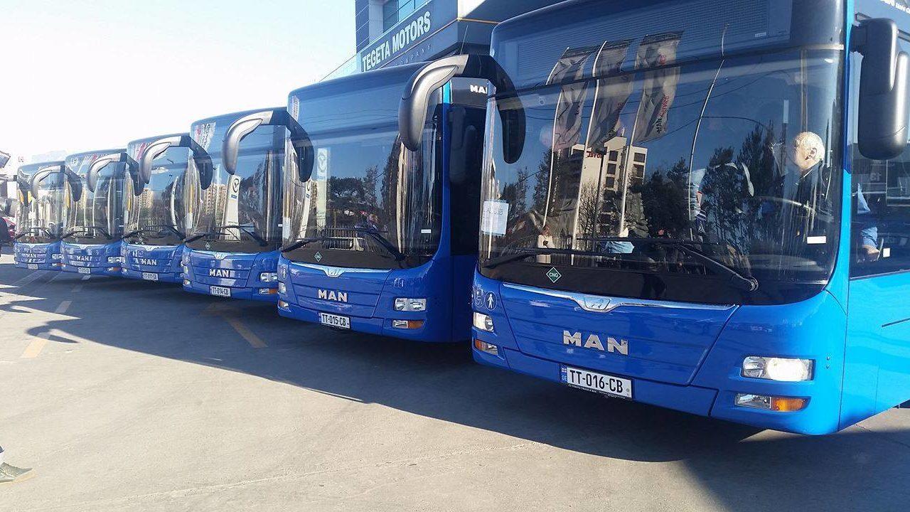 Мэрия Тбилиси планирует закупить 180 новых автобусов
