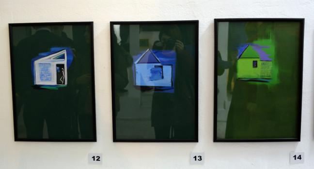 """მიშა გოგრიჭიანის გამოფენა """"მხატვრის სახლი"""" 16.12.16 ფოტო: ნეტგაზეთი"""