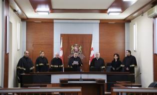 საკონსტიტუციო სასამართლოს პლენუმი. ფოტო: საკონსტიტუციო სასამართლო.