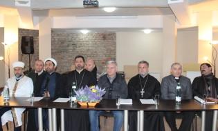 რელიგიური კონფესიების წარმომადგენლების პრესკონფერენცია ფოტო:ნეტგაზეთი