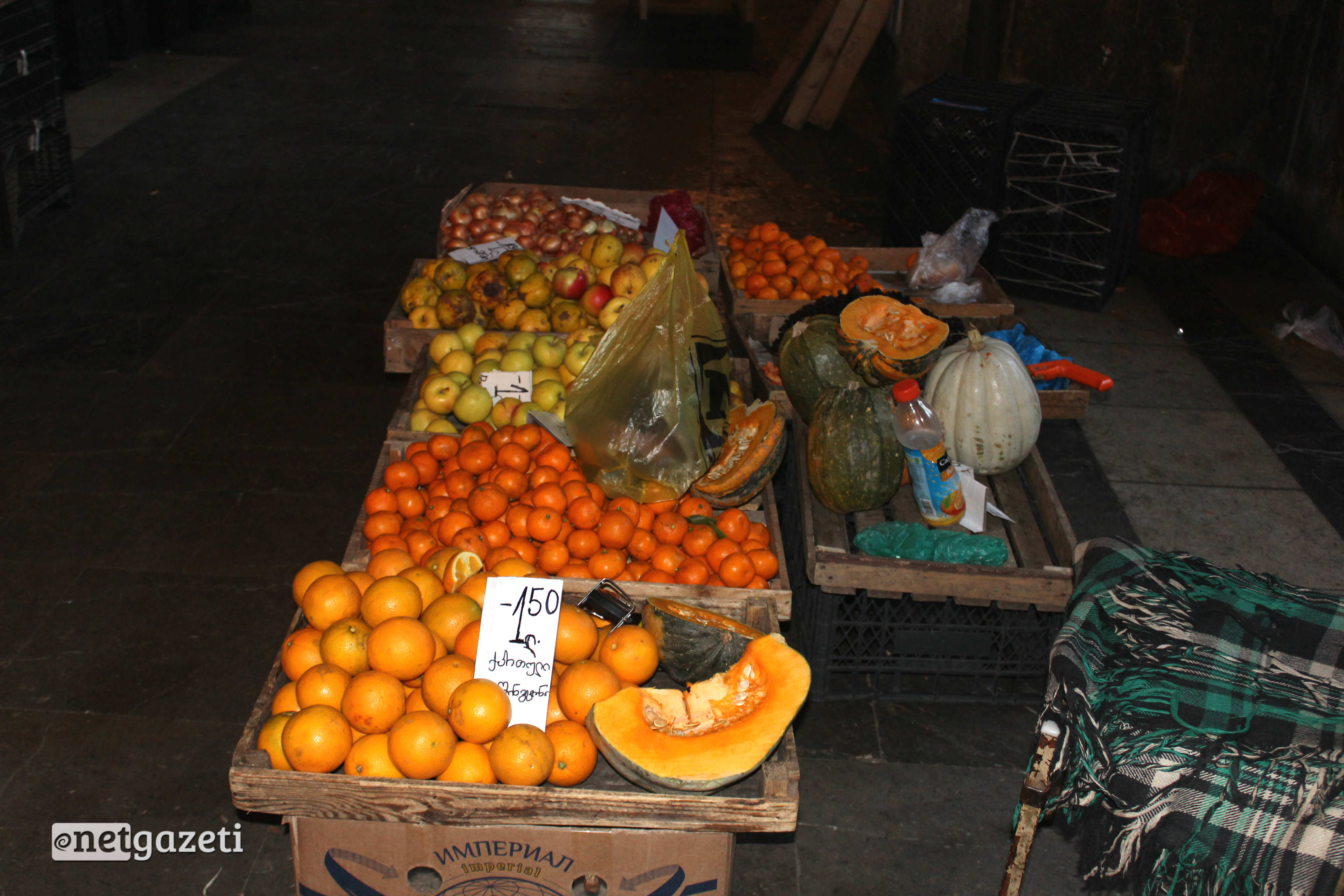 ხილი, თბილისის ცენტრალური ბაზარი. ფოტო: გიორგი დიასამიძე/ნეტგაზეთი