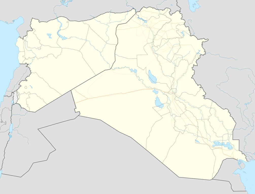 რუკაზე თეთრად: ერაყი და სირია