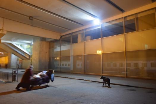 რკინიგზის სადგური, სადგურის მოედანი. 31.12.2016 ფოტო © ნეტგაზეთი/ლუკა პერტაია