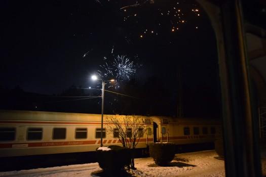 ფეიერვერი ხაშურში. 01.01.2017. ფოტო © ნეტგაზეთი/ლუკა პერტაია