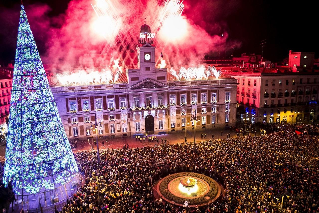 მადრიდი, ესპანეთი 01.01.17 ფოტო: EPA/Santi Donaire