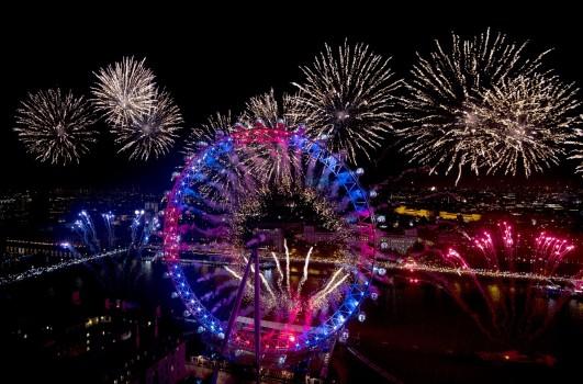 ლონდონი, დიდი ბრიტანეთი 01.01.17 ფოტო: EPA/HANNAH MCKAY