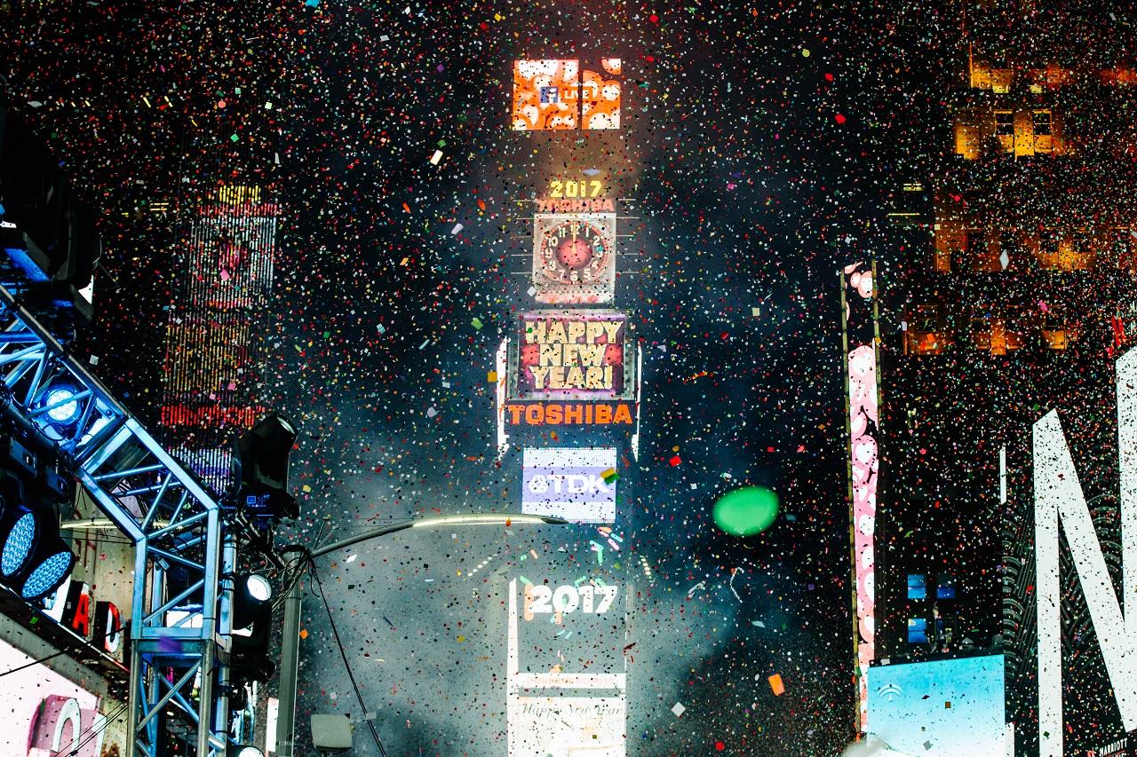 ნიუ-იორკი, აშშ 01.01.17 ფოტო: EPA/ALBA VIGARAY