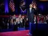 აშშ-ის 44-ე პრეზიდენტი, ბარაკ ობამა, ჩიკაგოში გამოსამშვიდობებელი სიტყვით გამოდის. 10 იანვარი, 2017. EPA/KAMIL KRZACZYNSKI