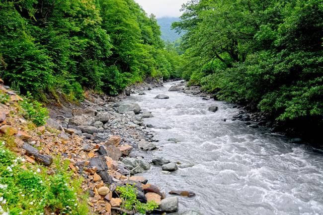 მდინარე ლუხუმი, ფოტო: ევრობანკი