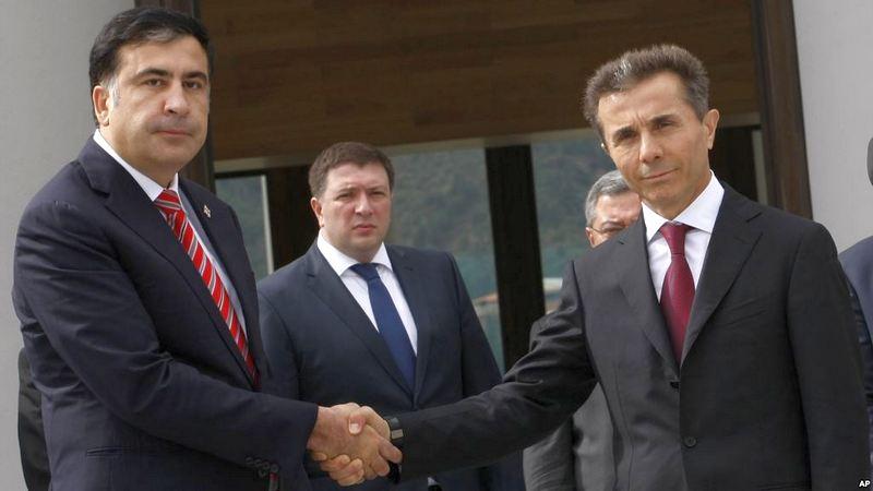 Кидалы они — оппозиционер про миллиардера Иванишвили и экс-президента Саакашвили