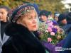 ლილი მარსაგიშვილი პატრიარქთან შესახვედრად ყვავილებით მივიდა, თუმცა, თაიგული პატრიარქს  ვერ გადასცა. ფოტო: ნეტგაზეთი/ქეთი მაჭავარიანი