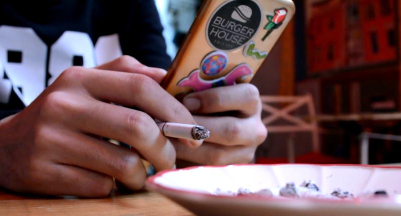 თამბაქო სიგარეტი მოწევა