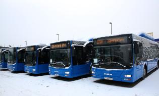 ახალი მუნიციპალური ტრანსპორტი თბილისში. ფოტო: თბილისის მერია