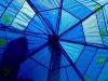 ქოლგა ევროკავშირის ფერებში © EPA/VASSIL DONEV
