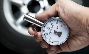 tire air pressure test.