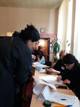 საპარლამენტო არჩევნები აფხაზეთში; 2017; ფოტო: ნეტგაზეთი