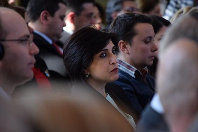 რესპუბლიკელი თამარ კორძაია პრეზიდენტის ადმინისტრაციაში გამართულ პრეზენტაციაზე. ფოტო: ნეტგაზეთი/ქეთი მაჭავარიანი 10.03.2017