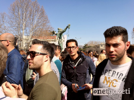 ირანული ნოვრუზობა აღნიშნეს თბილისში. 20.03.2017. ფოტო; მიშა მეფარიშვილი