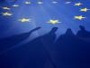 ევროკავშირის დროშა © EPA/ZURAB KURTSIKIDZE