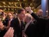 ჰოლანდიის პრემიერ-მინისტრს საპარლამენტო არჩევნებში გამარჯვებას ულოცავენ. 16.03.17 ფოტო: EPA/NIELS WENSTEDT