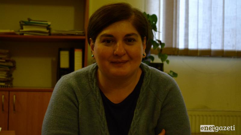 განათლების სამინისტროს ეროვნული სასწავლო გეგმების დეპარტამენტის ხელმძღვანელი ნათია ჯოხაძე ფოტო: ნეტგაზეთი/მარიამ ბოგვერაძე