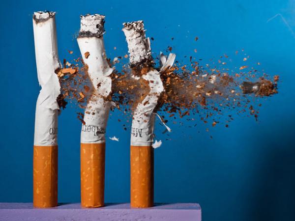 ჯანდაცვის სამინისტრო გაფრთხილებთ, მოწევა მავნებელია თქვენი ჯანმრთელობისათვის.