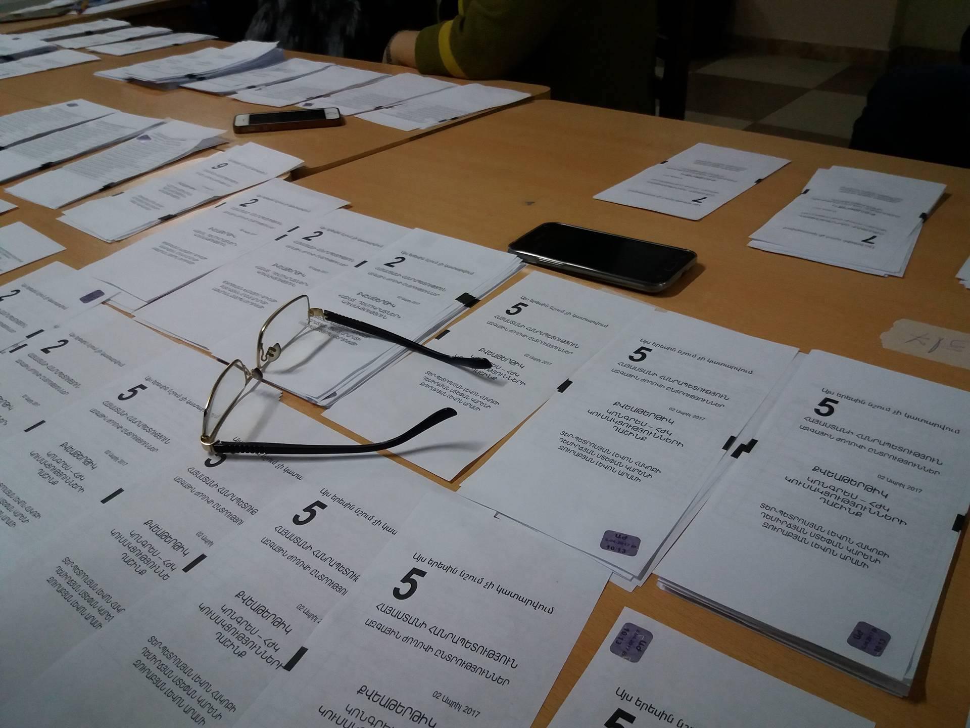 არჩევნები სომხეთში; ფოტო: არმინე ავეტისიანი/ნეტგაზეთი