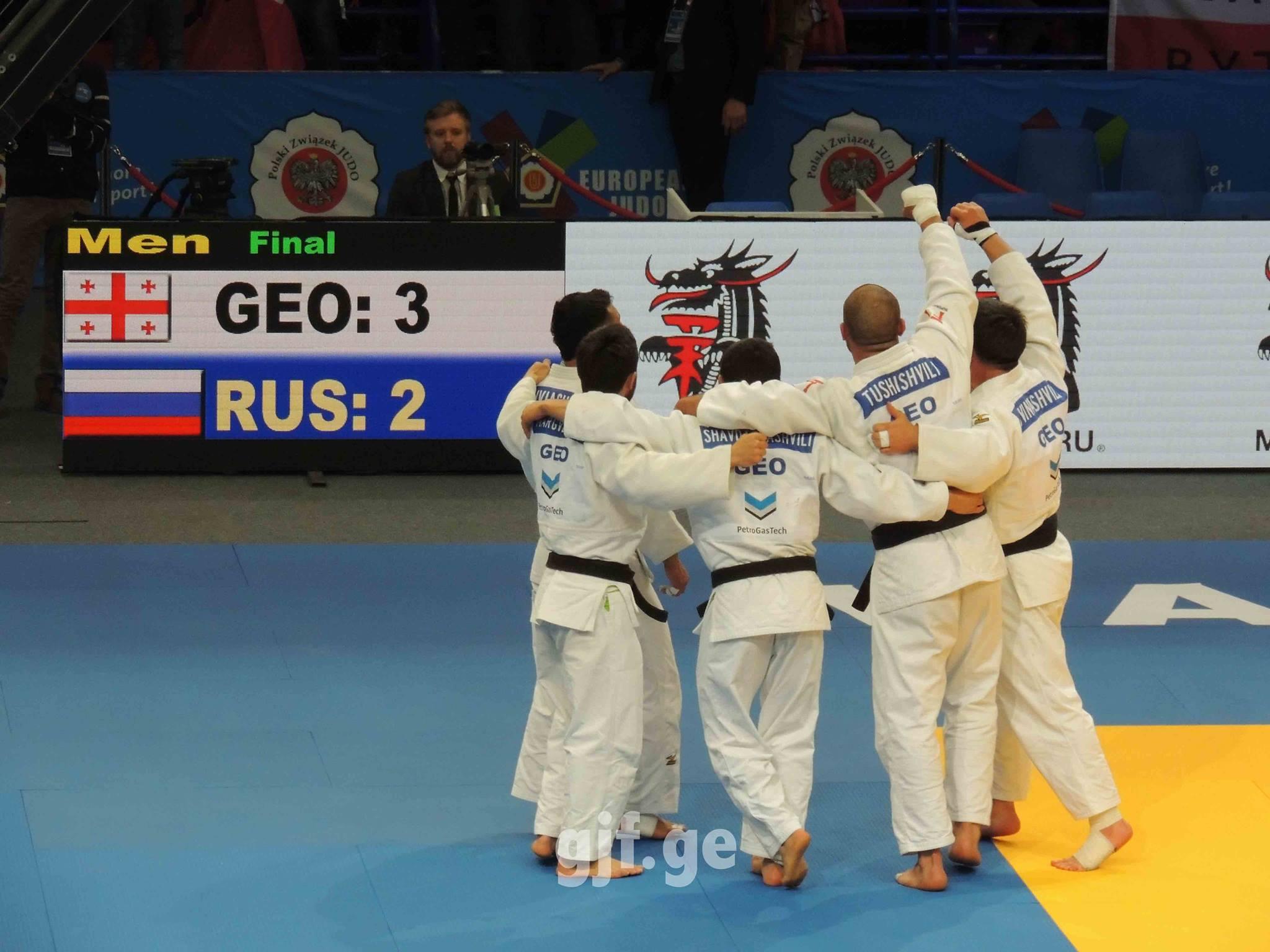 საქართველოს ნაკრები გუნდურ ჩათვლაში ევროპის 2017 წლის ჩემპიონია © Georgian Judo Federation - საქართველოს ძიუდოს ფედერაცია