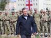 პრემიერ-მინისტრი გიორგი კვირიკაშვილი 30 აპრილს გორში ქართული შეიარაღებული ძალების შექმნის 26-ს წლისთავი ღონისძიებას დაესწრო. 30 აპრილი, 2017. გორი. საქართველო. ფოტო: მთავრობის პრესსამსახური