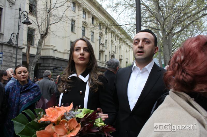 საქართველოს ყოფილი პრემიერ-მინისტრი ირაკლი ღარიბაშვილი 13.04.17 ფოტო: ნეტგაზეთი