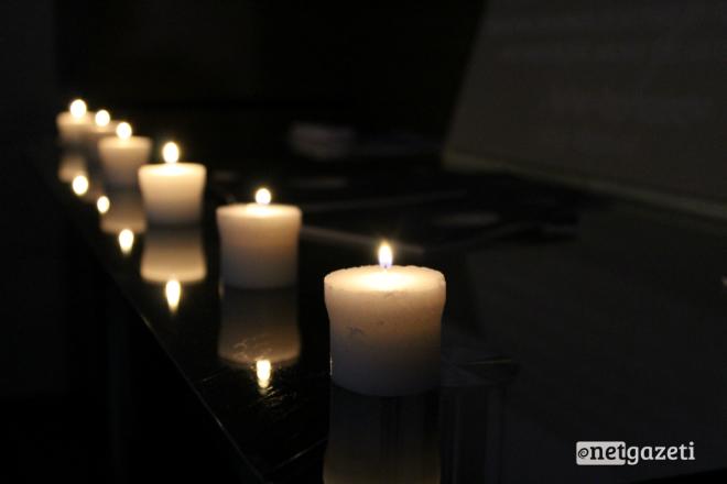 დღეს პრეზენტაციაზე სიმბოლურად 6 სანთელი დაანთეს. 25.04.17 ფოტო: ნეტგაზეთი