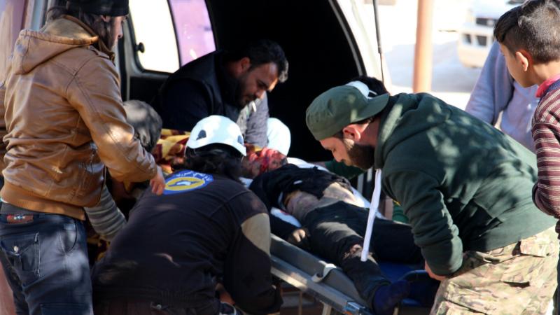 აფეთქება სირიაში, რომელმაც 126 ადამიანის სიცოცხლე იმსხვერპლა 15.04.2016 EPA/STR