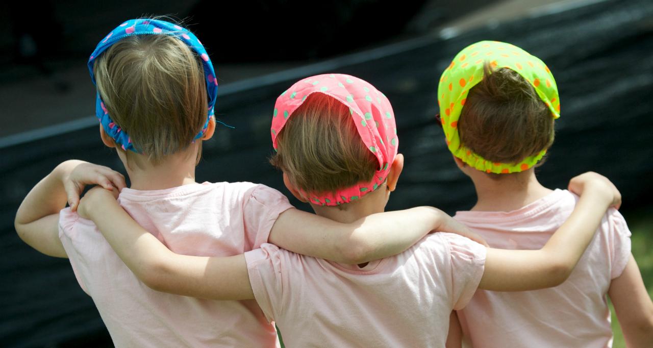 ბავშვები გერმანიაში ფოტო: EPA