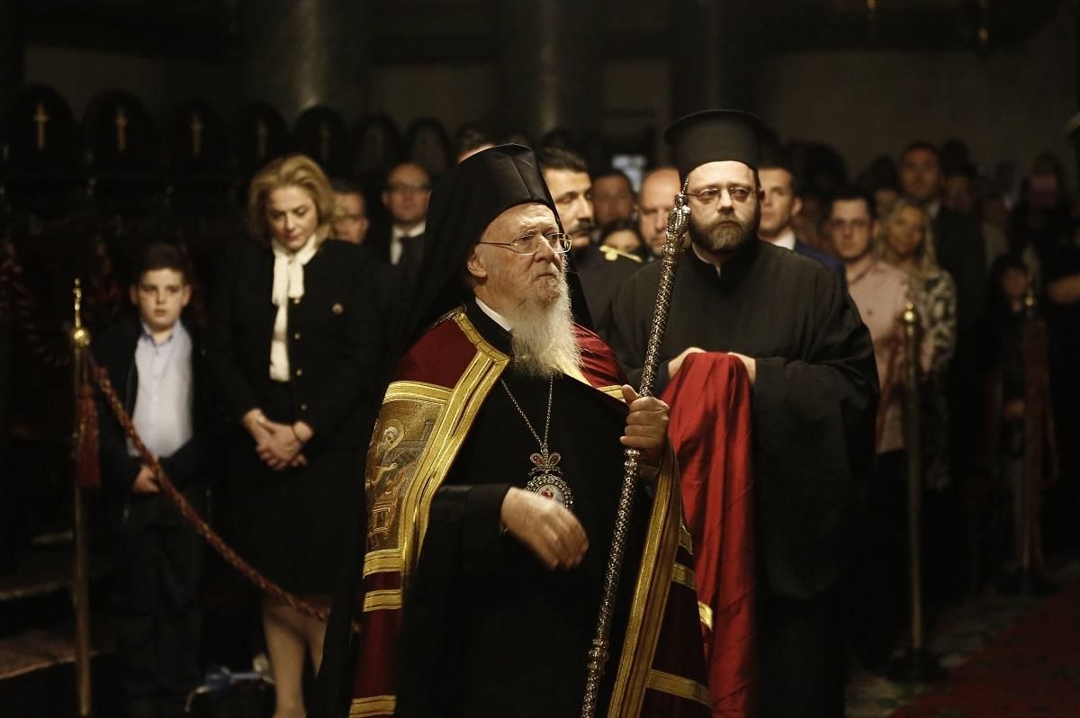 ბერძნული, მართლმადიდებლური ეკლესია სტამბულში, თურქეთი 16.04.17 ფოტო: EPA/CEM TURKEL