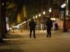 შანს-ელიზეზე მომხდარი სროლის შემდეგ პერiმეტრი პოლიციას აქვს დაკავებული. ფოტო:  EPA/ETIENNE LAURENT 20.04.2017