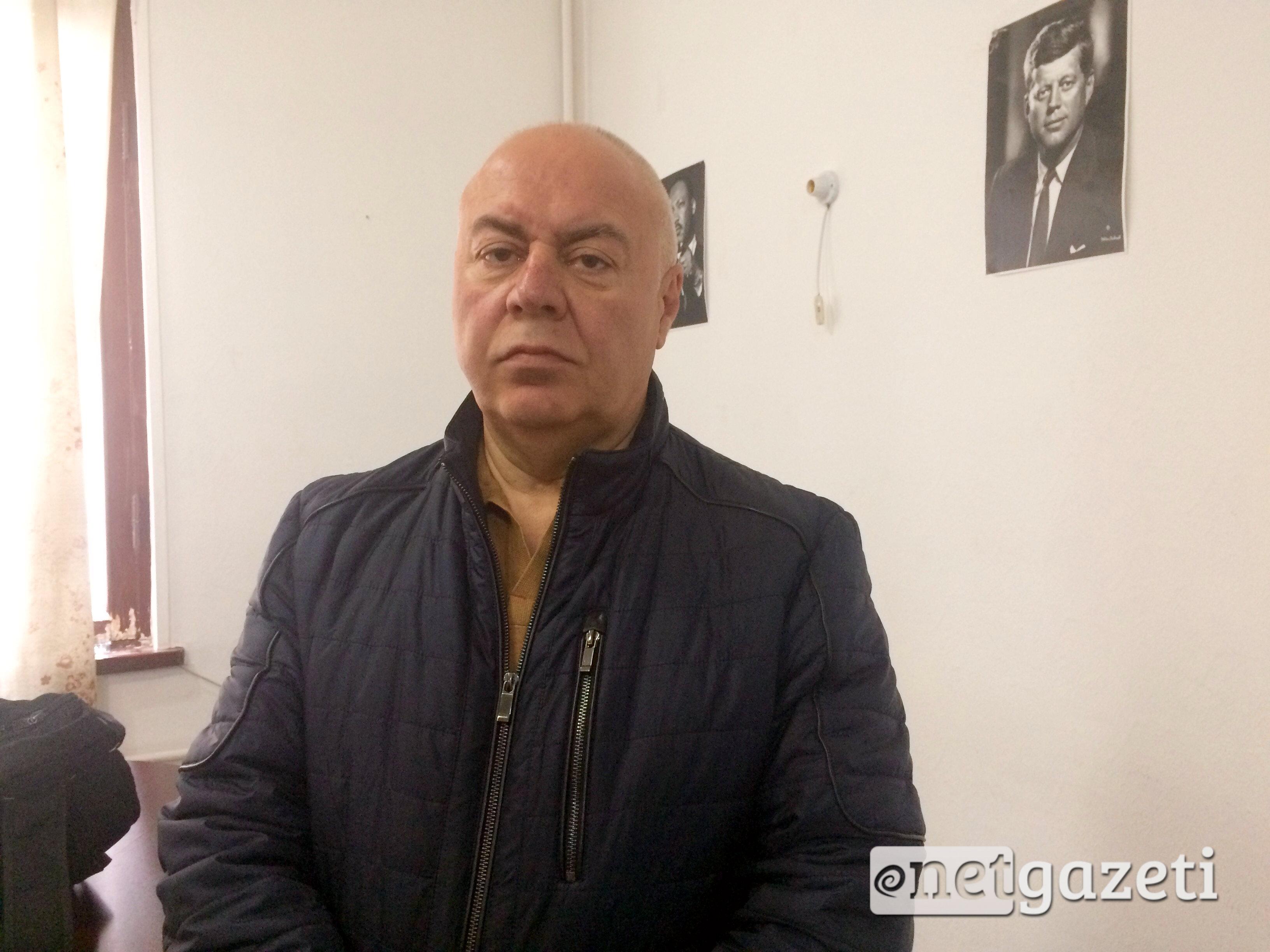 მელიკ რაისიანი, თავისუფალი საქართველოს ახალქალაქის კომიტეტის ლიდერი. ფოტო: გიორგი დიასამიძე/ნეტგაზეთი