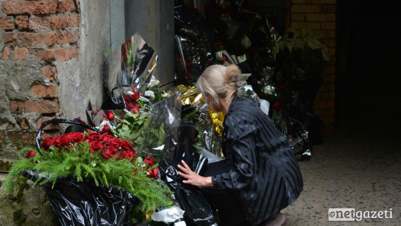 ტყიბულში 9 მაისს დაღუპული მაღაროელები დღეს დაკრძალეს 14.05.17 ფოტო: ნეტგაზეთი/მარიამ ბოგვერაძე
