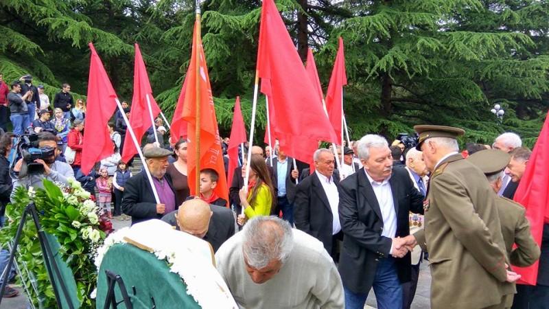 თბილისში ფაშიზმზე გამარჯვების დღეს აღნიშნავენ. თბილისი, ვაკის პარკი, 09/05/2017 ფოტო: გივი ავალიანი/ნეტგაზეთი