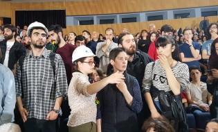 თბილისში საკონსტიტუციო ცვლილებების პროექტის განხილვა ჩაიშალა 15.05.17 ფოტო: ნეტგაზეთი/ ქეთი მაჭავარიანი
