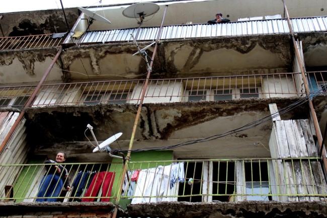 საცხოვრებელი სახლი ტყიბულში ფოტო: მანანა ქველიაშვილი/ნეტგაზეთი