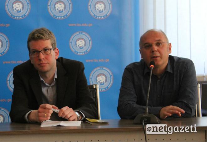 """""""Noosfera Foundation"""" ფრიდრიხ ებერტის ფონდთან ერთად განახორცილებს პროეტს: """"შრომის უფლებების კამპანია"""" 01.04.17 ფოტო: ნეტგაზეთი"""